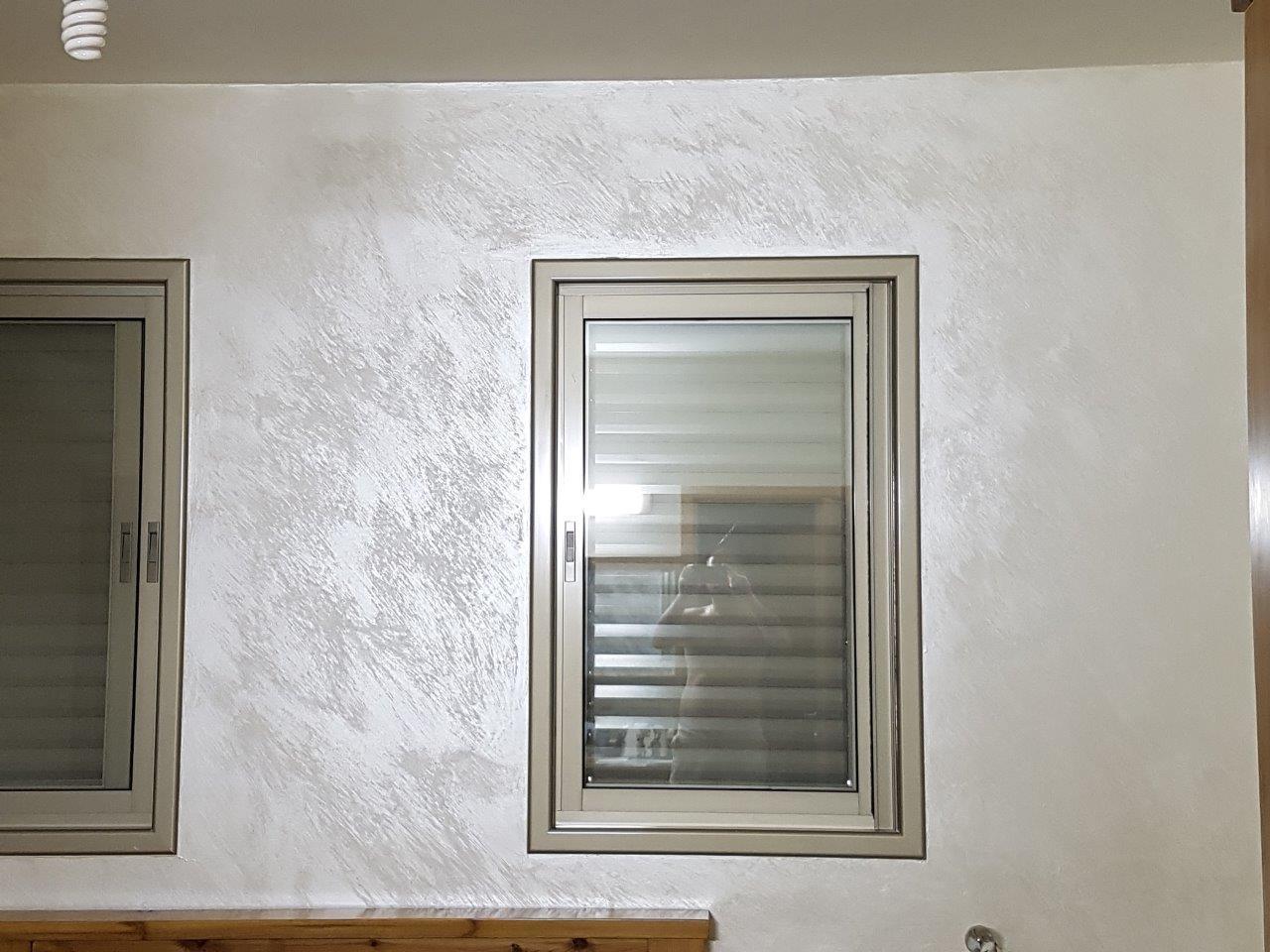 צביעת דירה אומנותית צבע סהרה גוון שמנת בהיר מראה מיוחד ועדין