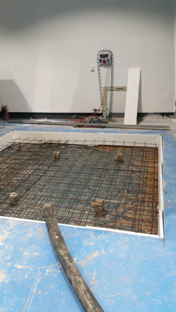 יציקת בטון לפי תקן