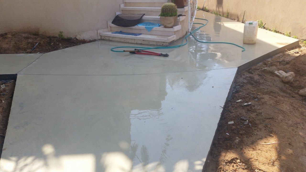 רצפות בטון