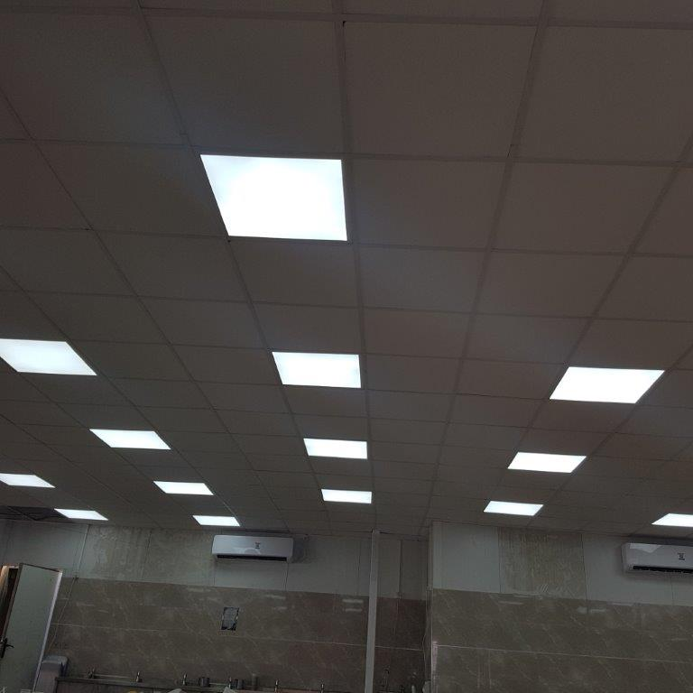 התקנת תקרה אקוסטית במשרד