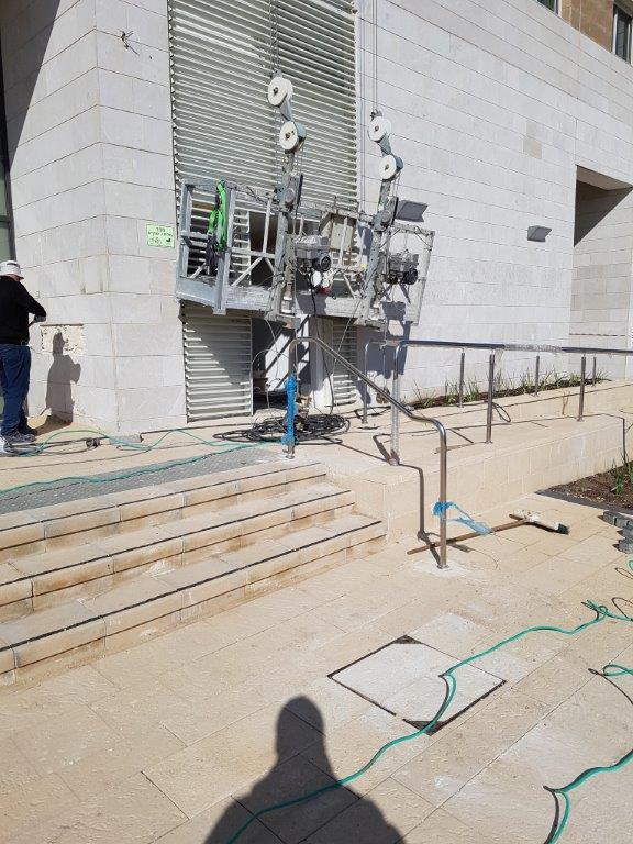 עבודות בגובה במעלית - עבודות גובה בסנפלינג